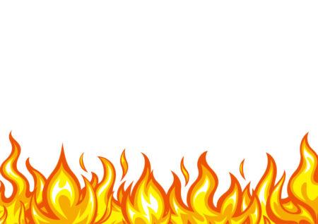 炎のイラスト